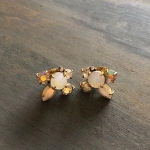 J.Crew Crystal Post Earrings